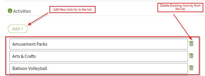 AddActivityList